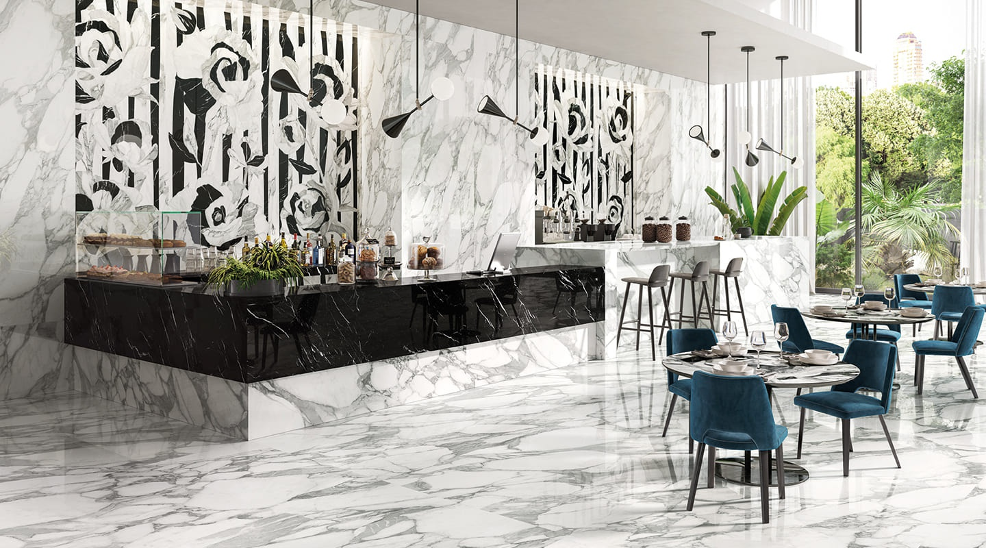 Tele Di Marmo Selection commercial blanc marble 3395